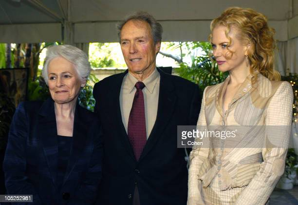 AFI Director/CEO Jean Picker Firstenberg Clint Eastwood and Nicole Kidman