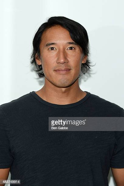 "Director/climber Jimmy Chin attends the 2015 Film Society Of Lincoln Center Summer Talks with ""Meru"" at Elinor Bunin Munroe Film Center on August 12,..."