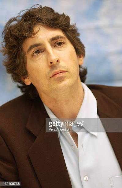 Director/coscreenwriter Alexander Payne during About Schmidt Press Conference with Jack Nicholson Alexander Payne Kathy Bates Hope Davis and Dermot...
