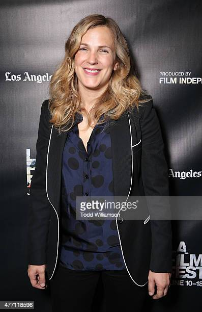 Director/CoWriter Anna Axster attends the World Premiere of A Country Called Home at The 2015 Los Angeles Film Festival at Regal Cinemas LA Live on...