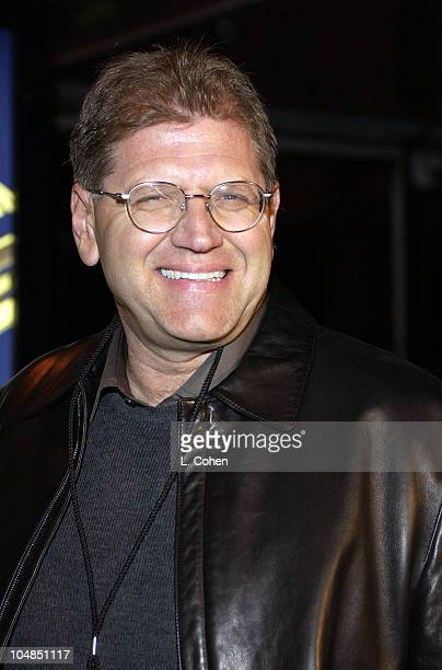 Director/cowriter Robert Zemeckis during Back To The Future Reunion And DVD Launch Party at Universal backlot in Universal City California United...