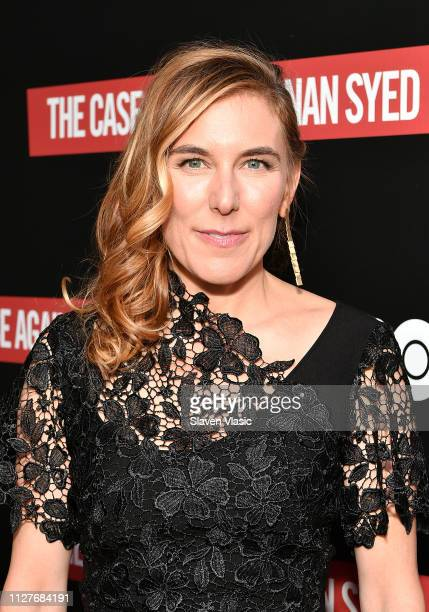 Director/executive producer Amy Berg attends NY premiere of HBO's The Case Against Adnan Syed at PURE NON FICTION on February 26 2019 in New York City