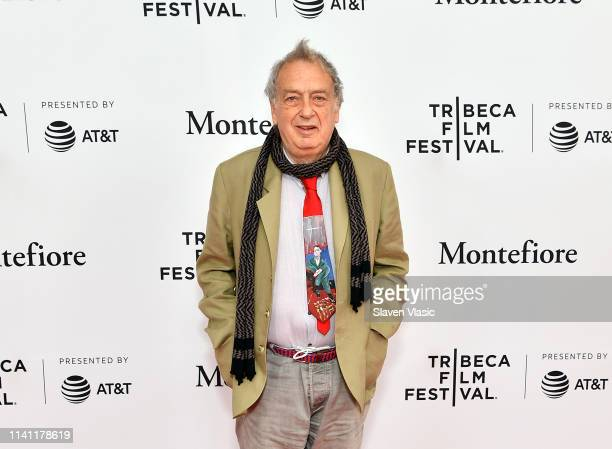Director/executive producer Stephen Frears attends New York premiere of SundanceTV's new TV series State Of The Union screening at Tribeca Film...