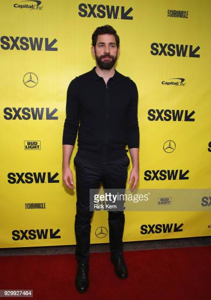 Director/executive producer/writer John Kransinski attends the Opening Night Screening and World Premiere of 'A Quiet Place' during the 2018 SXSW...