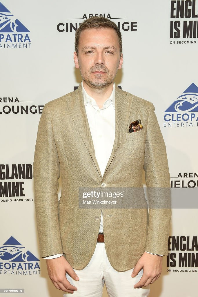 Director/filmmaker Mark Gill attends the screening of 'England Is Mine' at The Montalban on August 22, 2017 in Hollywood, California.