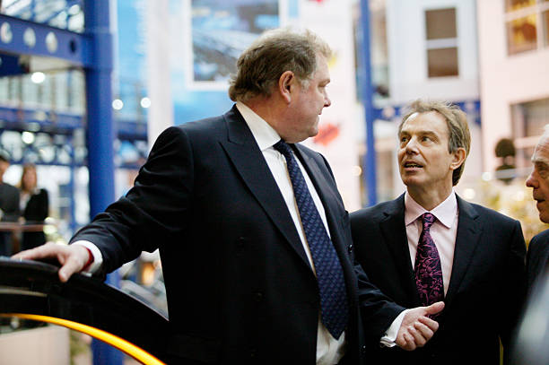 CBI Director-General Digby Jones and Prime Minister Tony Blair