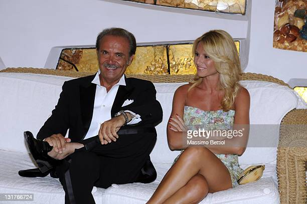 Director-General Mauro Masi attends the 2010 Rudolph Valentino International Cinema Awards inside the Jaspe Hotel Resort on July 4, 2010 in Poltu...