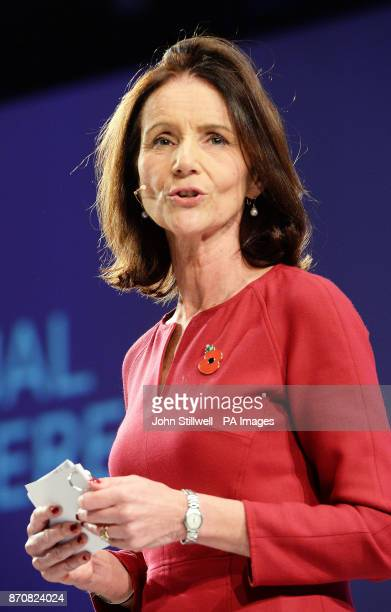 DirectorGeneral of the CBI Carolyn Fairbairn addresses their annual conference in London