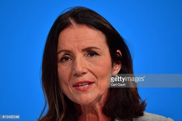 DirectorGeneral of the Confederation of British Industry Carolyn Fairbairn delivers a speech on the third day of the Conservative Party Conference...