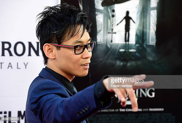 DirectorJames Wan attends the 2016 Los Angeles Film Festival The Conjuring 2 Premiere at TCL Chinese Theatre IMAX on June 7 2016 in Hollywood...