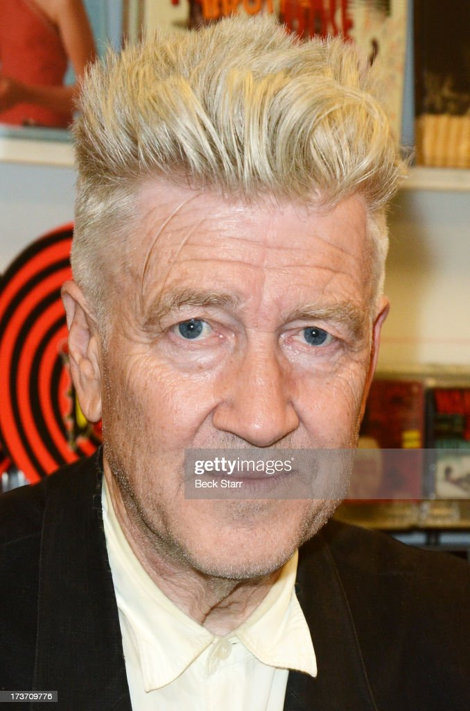 "David Lynch Signs Copies Of His New Album ""The Big Dream"""