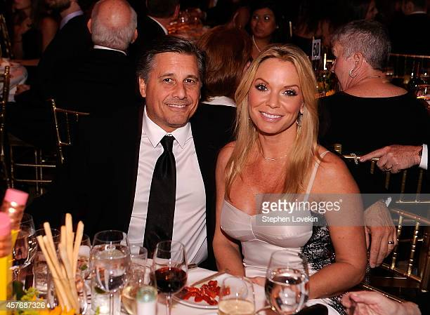Director/Photographer CoFounder of WireImage Kevin Mazur and wife Jenn Mazur attend the Fourth Annual Pencils Of Promise Gala Honoring Sophia Bush...