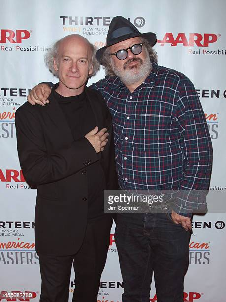 Director/photographer Timothy GreenfieldSanders and music producer Hal Willner attend the American Masters The Boomer List New York Premiere at Paley...