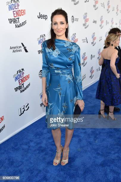 Director/Producer Ana Asensio attends the 2018 Film Independent Spirit Awards on March 3 2018 in Santa Monica California