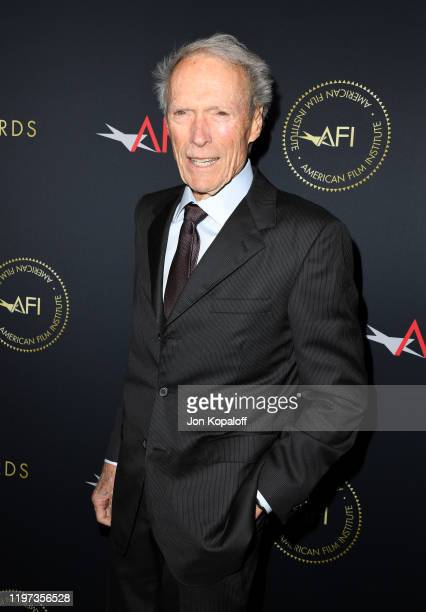 Director-producer Clint Eastwood attends the 20th Annual AFI Awards at Four Seasons Hotel Los Angeles at Beverly Hills on January 03, 2020 in Los...