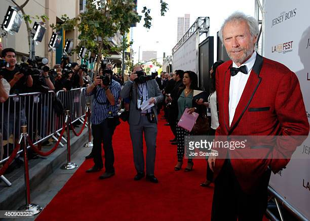 Director/producer Clint Eastwood attends the closing night film premiere of 'Jersey Boys' during the 2014 Los Angeles Film Festival at Premiere House...