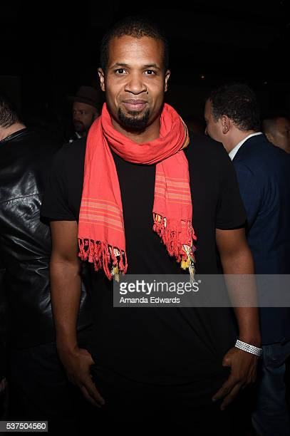 """Director/Producer Damani Baker attends the after party for the premiere of """"Lowriders"""" during opening night of the 2016 Los Angeles Film Festival at..."""