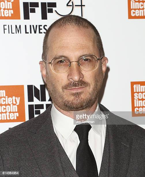 Director/producer Darren Aronofsky attends the 54th New York Film Festival 'Jackie' screening on October 13 2016 in New York City