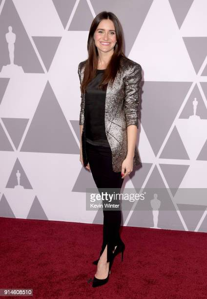 Director/producer Elaine McMillion Sheldon attends the 90th Annual Academy Awards Nominee Luncheon at The Beverly Hilton Hotel on February 5 2018 in...