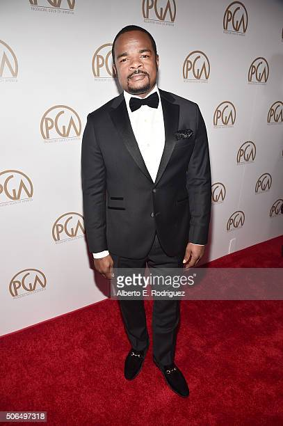 Director/producer F Gary Gray attends the 27th Annual Producers Guild Of America Awards at the Hyatt Regency Century Plaza on January 23 2016 in...