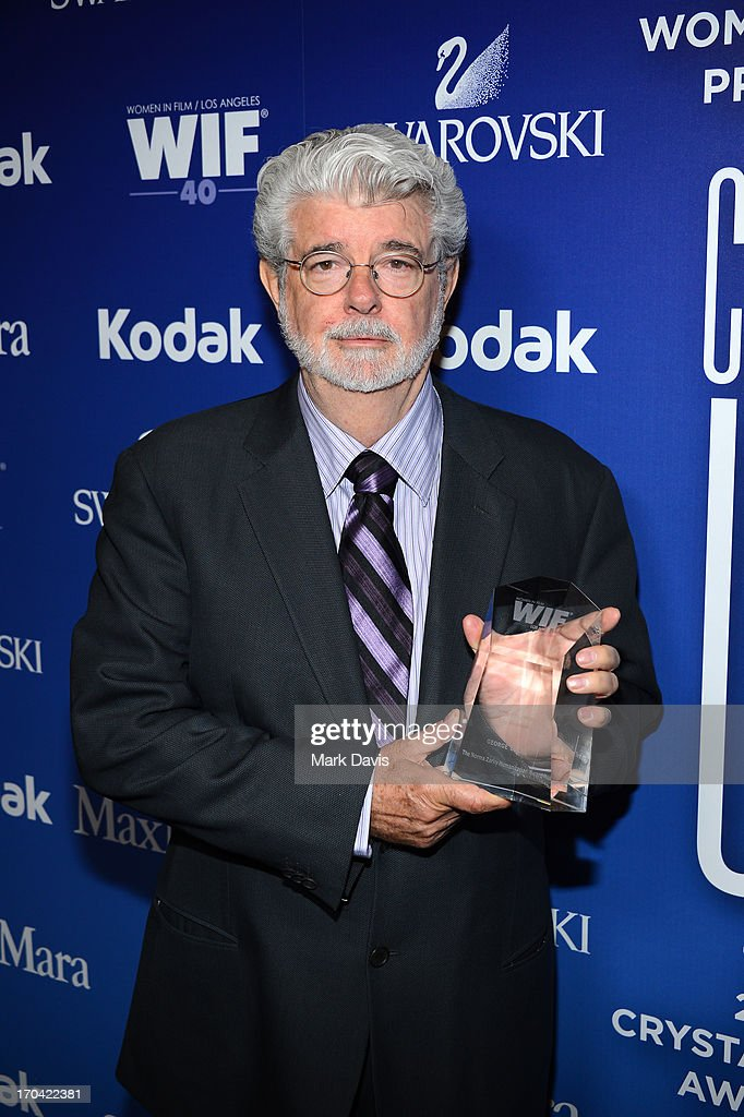 Director/producer George Lucas attends Women In Film's 2013 Crystal + Lucy Awards at The Beverly Hilton Hotel on June 12, 2013 in Beverly Hills, California.