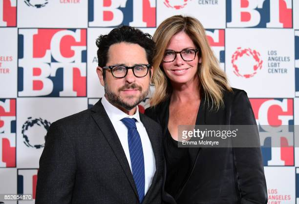 Director/Producer JJ Abrams and Katie McGrath attend Los Angeles LGBT Center's 48th Anniversary Gala Vanguard Awards at The Beverly Hilton Hotel on...