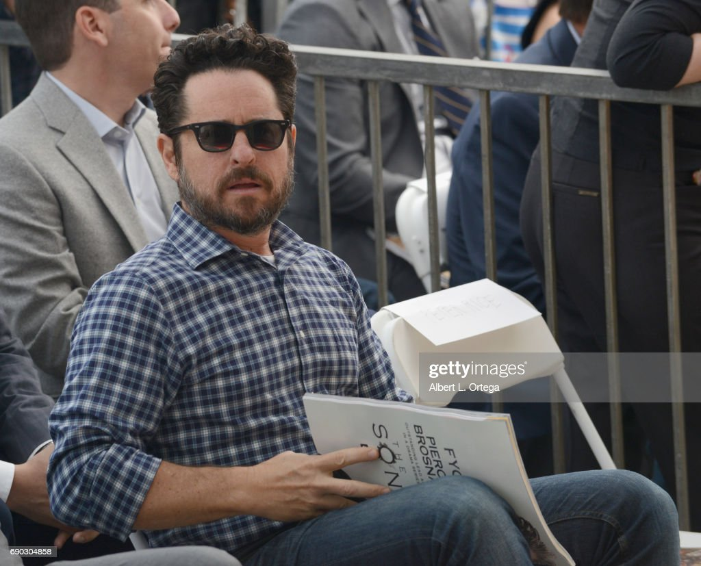 Director/producer J.J. Abrams at Keri Russell 's Star Ceremony held on the Hollywood Walk of Fame on May 30, 2017 in Hollywood, California.