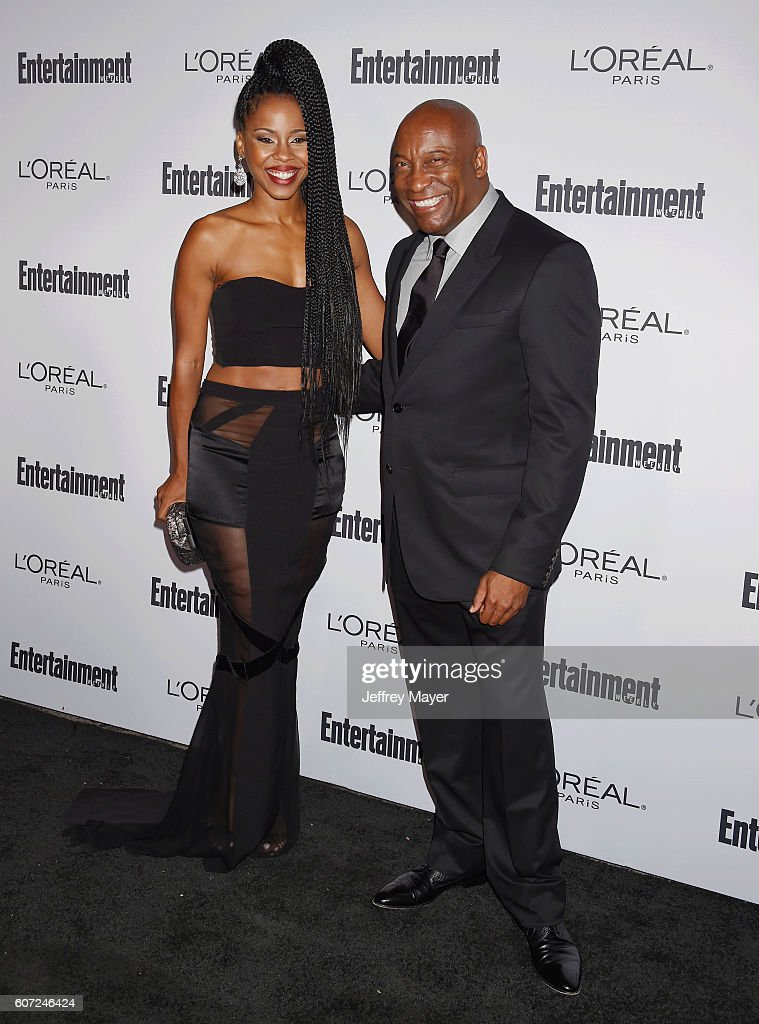 Director/producer John Singleton (R) and actress/singer/dancer Danielle Moné Truitt attend the Entertainment Weekly's 2016 Pre-Emmy Party held at Nightingale Plaza on September 16, 2016 in Los Angeles, California.