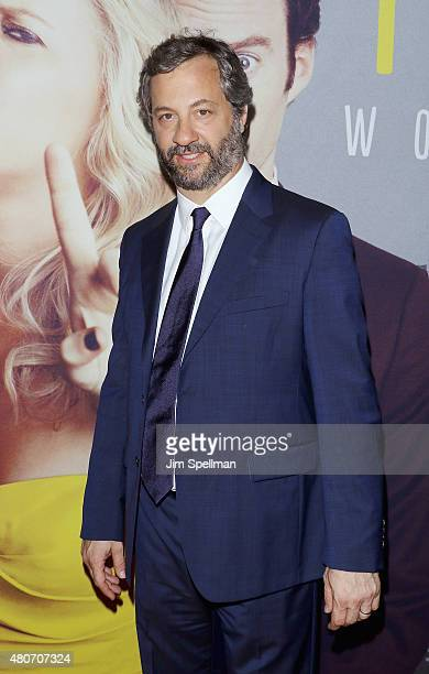 Director/producer Judd Apatow attends the 'Trainwreck' New York premiere at Alice Tully Hall on July 14 2015 in New York City