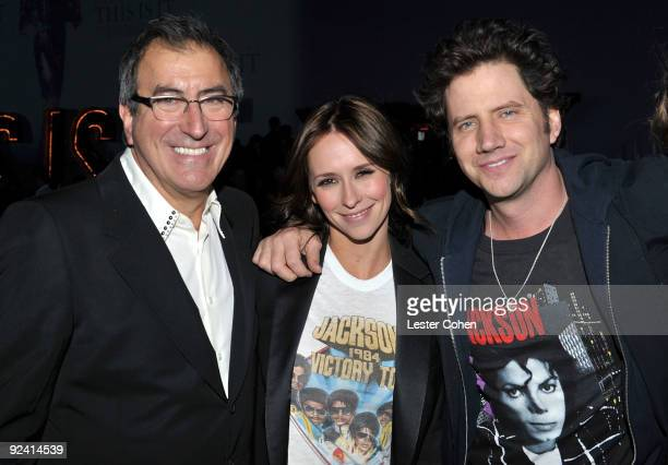 Director/producer Kenny Ortega actress Jennifer Love Hewitt and comedian Jamie Kennedy attend the after party for the Los Angeles premiere of 'This...