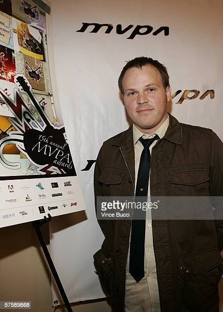 Director/producer Marc Webb attends the Music Video Production Association's 15th Annual MVPA Awards at the Orpheum Theatre on May 11 2006 in Los...