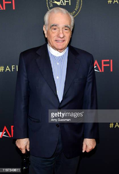 Director-producer Martin Scorsese attends the 20th Annual AFI Awards at Four Seasons Hotel Los Angeles at Beverly Hills on January 03, 2020 in Los...