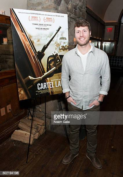 Director/Producer Matthew Heineman attends a screening hosted by Jake Gyllenhaal and John Lesher to honor Cartel Land a film by Matthew Heineman...