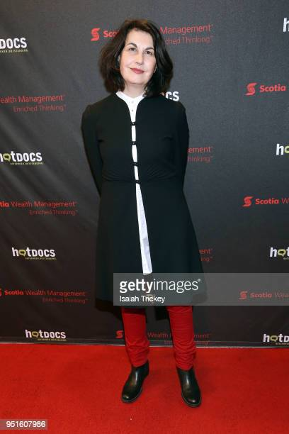 Director/producer Maya Gallus attends the screening of 'The Heat A Kitchen evolution' at Hot Docs Ted Rogers Cinema on April 26 2018 in Toronto Canada