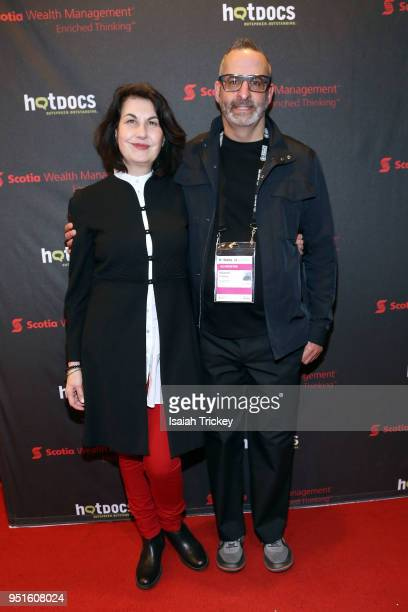 Director/producer Maya Gallus coproducer Howard Fraiberg attend the screening of 'The Heat A Kitchen evolution' at Hot Docs Ted Rogers Cinema on...