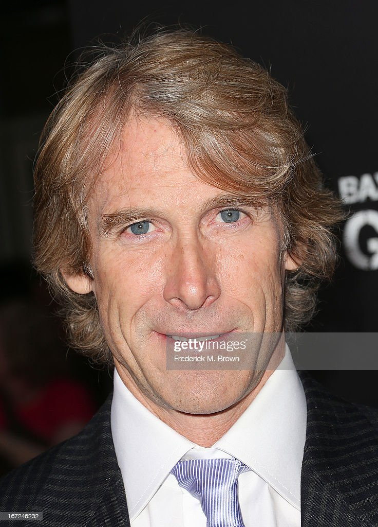 Director/producer Michael Bay attends the premiere of Paramount Pictures' 'Pain & Gain' at the TCL Chinese Theatre on April 22, 2013 in Hollywood, California.
