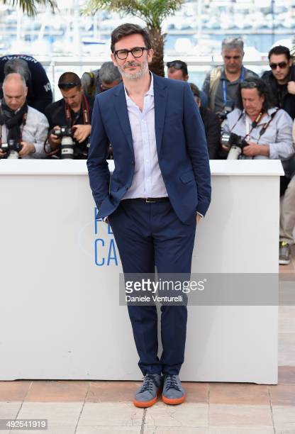 Director/producer Michel Hazanavicius attends 'The Search' photocall at the 67th Annual Cannes Film Festival on May 21 2014 in Cannes France