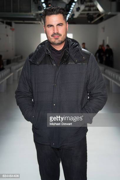 Director/Producer Rocco Leo Gaglioti attends the Noon by Noor show during February 2017 New York Fashion Week The Shows at Gallery 3 Skylight...
