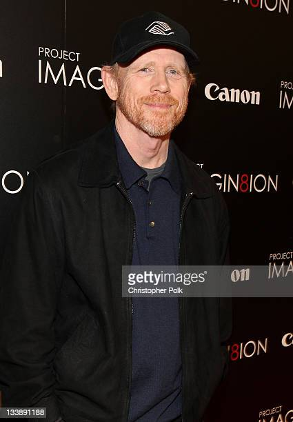 Director/producer Ron Howard attends the premiere of 'When You Find Me' inspired by Canon's 'Project Imagin8ion' held at the Creative Artists Agency...