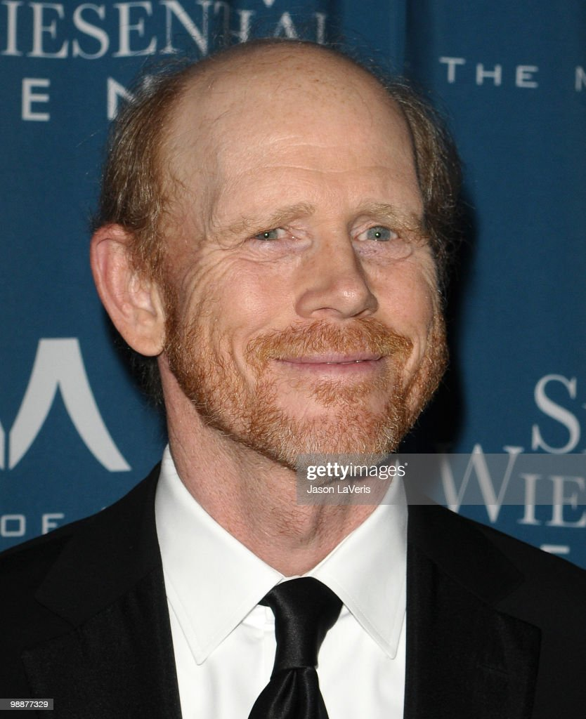 Director/producer Ron Howard attends the Simon Wiesenthal Center's 2010 Humanitarian Award ceremony at the Beverly Wilshire hotel on May 5, 2010 in Beverly Hills, California.