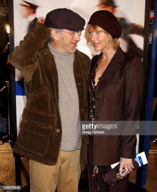 Director/producer Steven Spielberg wife Kate Capshaw