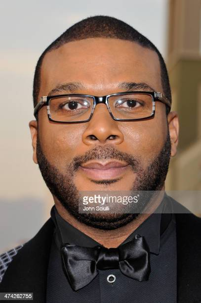 Director/producer Tyler Perry attends the 45th NAACP Image Awards presented by TV One at Pasadena Civic Auditorium on February 22 2014 in Pasadena...
