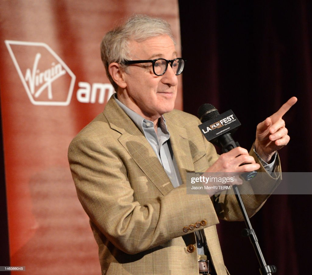 Director/producer Woody Allen attends Film Independent's 2012 Los Angeles Film Festival Premiere of Sony Pictures Classics' 'To Rome With Love' at Regal Cinemas L.A. LIVE Stadium 14 on June 14, 2012 in Los Angeles, California.