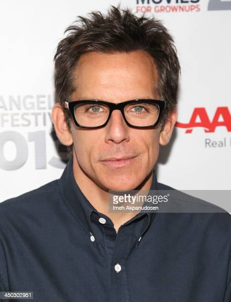 Director/producer/actor Ben Stiller attends the screening of 'The Secret Life Of Walter Mitty' at AARP's Movies For Grownups Film Festival 2013 at...