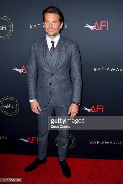 Directorproduceractor Bradley Cooper attends the 19th Annual AFI Awards at Four Seasons Hotel Los Angeles at Beverly Hills on January 4 2019 in Los...