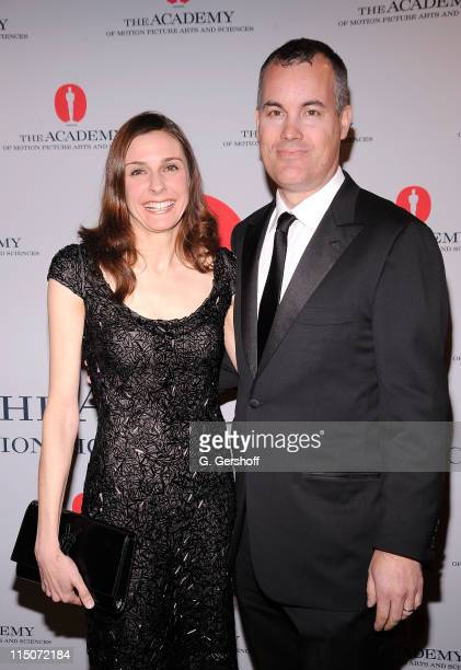 Director/producer/cinematographer Cynthia Wade and coproducer Matthew Syrett attend the Academy of Motion Picture Arts Sciences New York Oscar night...