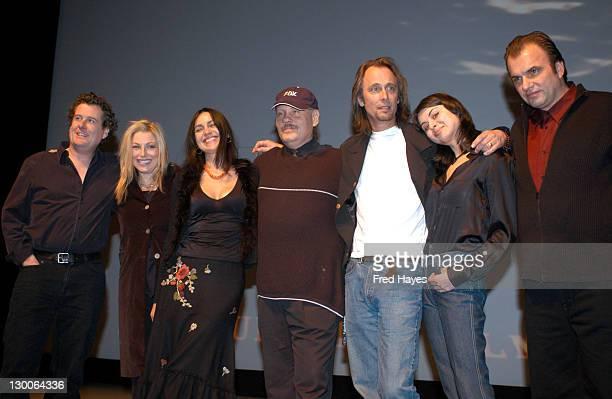 Director/producer/cowriter Scott Saunders Tatum O'Neal Natalia Novikova William Forsythe actor/producer/cowriter Michael Harris Oksana Lada and John...