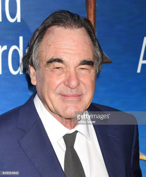 Director/producer/screenwriter Oliver Stone attends the 2017 Writers Guild Awards LA Ceremony at The Beverly Hilton Hotel on February 19 2017 in...