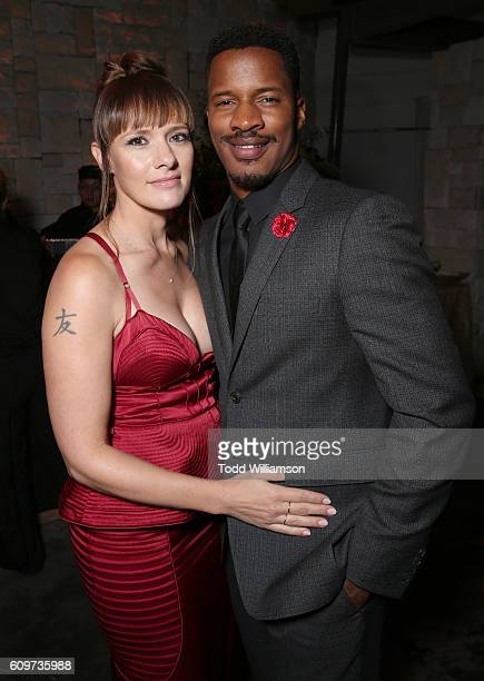 Director/Producer/Writer Nate Parker and wife Sarah DiSanto attend the after party for the Los Angeles Premiere of Fox Searchlight's The Birth of a...