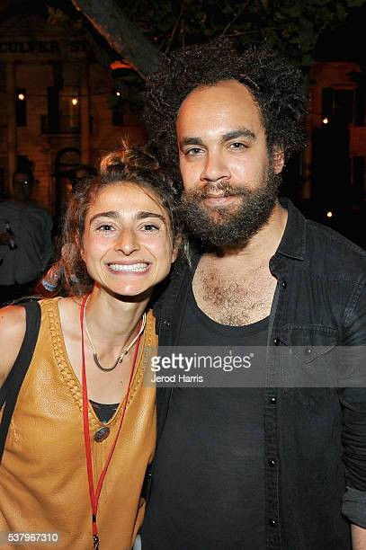 Directors Alexi Pappas and Donari Braxton attend the Filmmaker Reception during the 2016 Los Angeles Film Festival on June 3 2016 in Culver City...